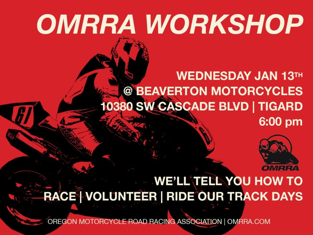 omrra workshop jan 2016
